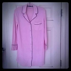Victoria's Secret Cozy Button-down Sleepshirt